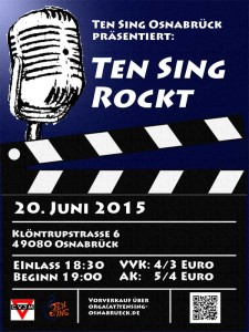 Flyer TEN SING ROCKT