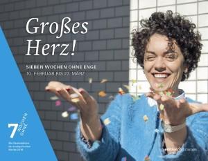 Motiv der diesjährigen Fastenaktion der evangelischen Kirche (www.7-wochen-ohne.de)